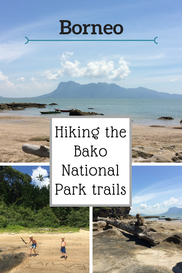 Hiking the Bako National Park trails