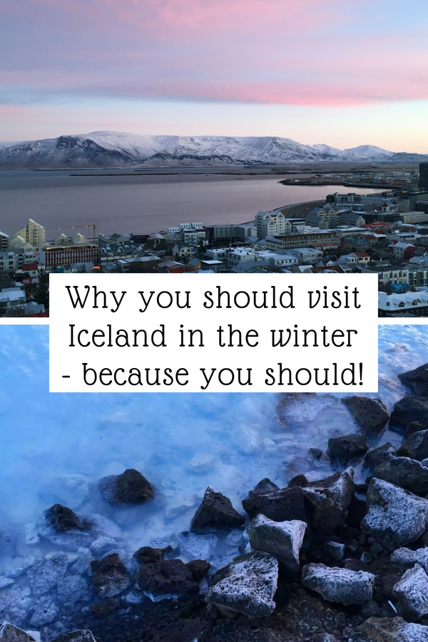 Visit Iceland in the winter