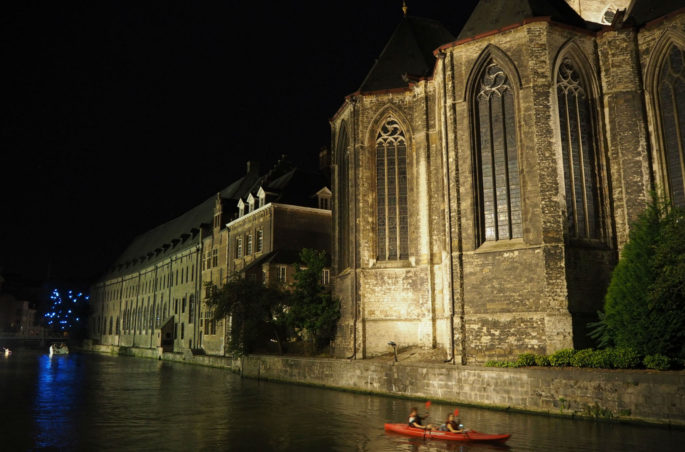 Ghent illuminated walk
