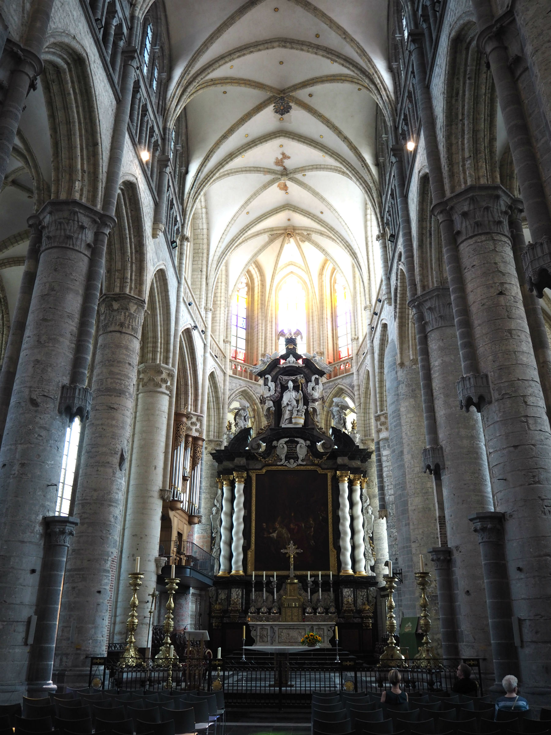 St. Nicholas Church in Ghent