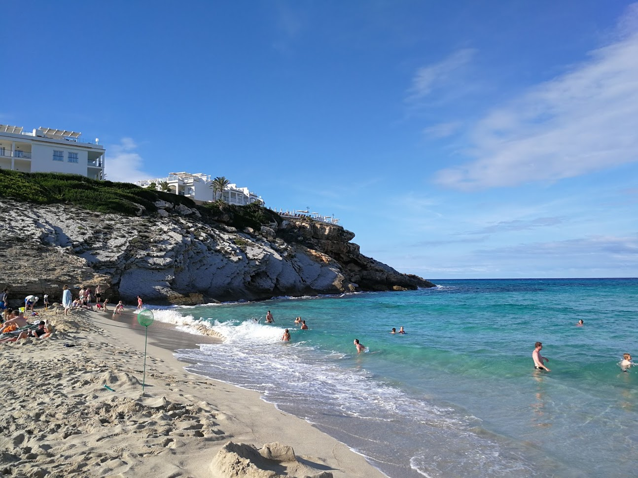 Cala Mesquida in Mallorca. A beautiful beach with soft white sand and clear water