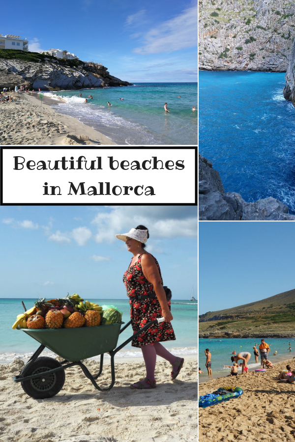 Pictures of beaches in Mallorca