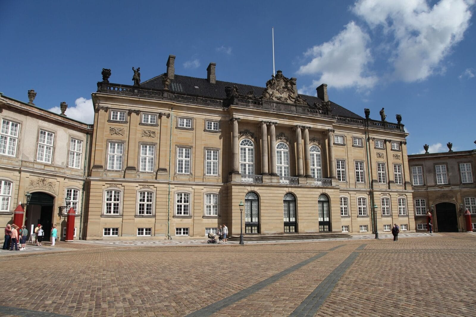 One day in Copenhagen? Dont forget to see Amalienborg Palace